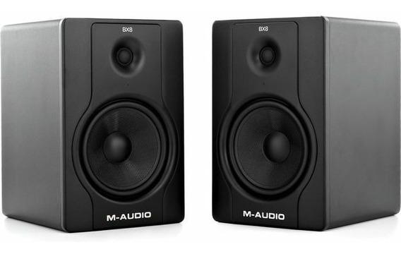 Monitor M Audio Bx 8 D2 Preço Do Par