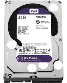 Hd 4tb Purple 4 Tera Western Wd Cftv Dvr Wd40purz
