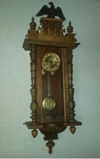 Reloj De Pared Junghans B13 A Pendulo Aleman Garantia
