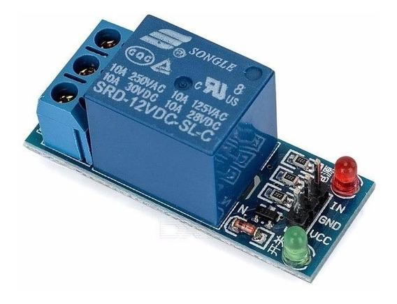 Modulo Rele 1 Canal 12v Automção Arduino Pic Raspberry Pic