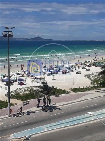 Cobertura Para Venda Em Cabo Frio, Centro, 3 Dormitórios, 3 Banheiros, 1 Vaga - Cob083