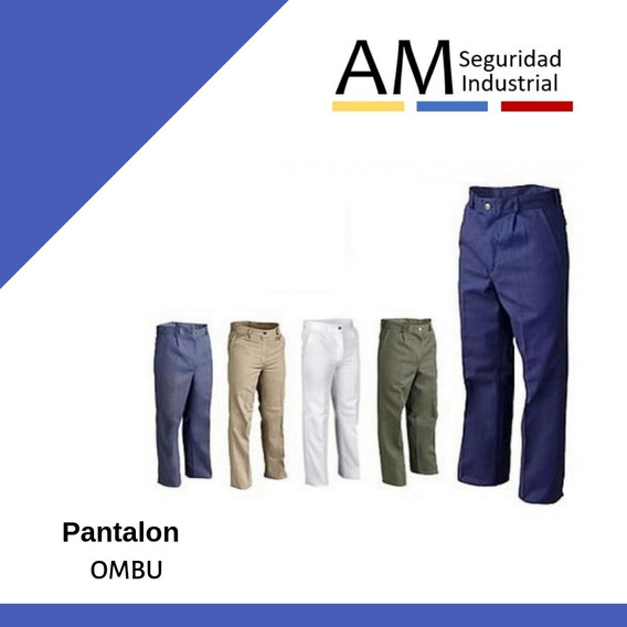 Pantalon Ombu Trabajo Clasico Factura A