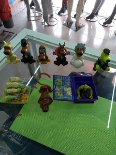 Figuras De Scooby Doo Burger King, Macdonald No Sonrics...