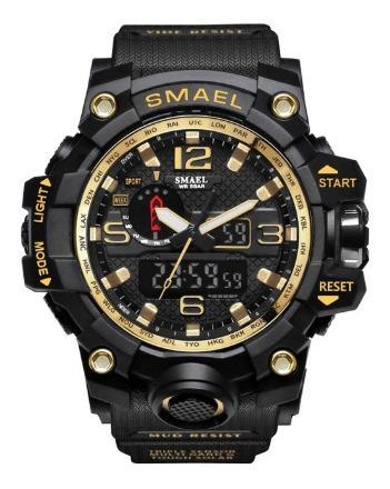 Relógio Masculino Militar Shock Esportivo Smael 1545 /6