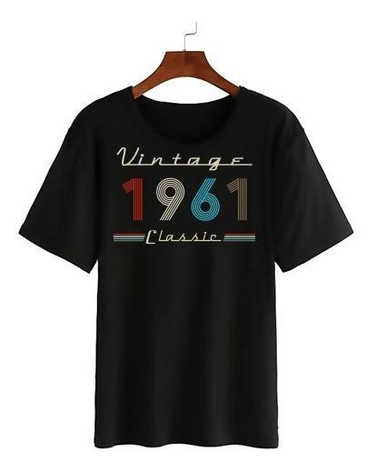 Playera De Cumpleaños Personalizada (vintage)