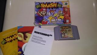 Juego Super Smash Bros Nintendo 64 Completo