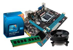 Kit Intel Core I3 530 2.93 Ghz, Placa Chipset Intel H55, 4gb