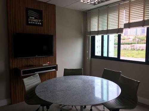 Imagem 1 de 21 de Sala Comercial À Venda, 33 M² Por R$ 330.000 - Parque Das Flores- Campinas/sp! - Sa0067
