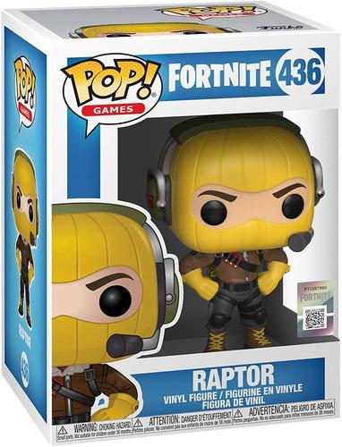 Muñeco Funko Pop Raptor Fortnite Coleccion Personaje Rdf1