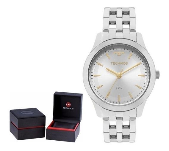 Relógio Technos Elegance Dress - 2035mpn/1k Original + Nf