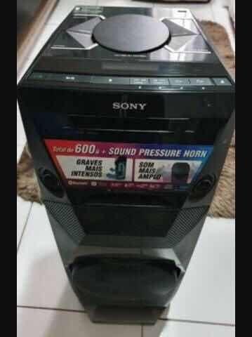 Mini System Sony Mhc-v3 600w ( Retirada De Peças)!
