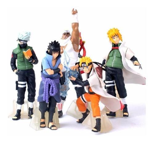 Figuras Muñecos Anime Naruto  Boruto Shippuden Set De 6