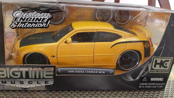 Miniatura Nada 1/24 2006 Dodge Charger Srt8