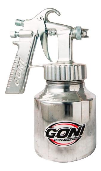 Pistola De Baja Presion Goni Con Vaso Reforzado 26