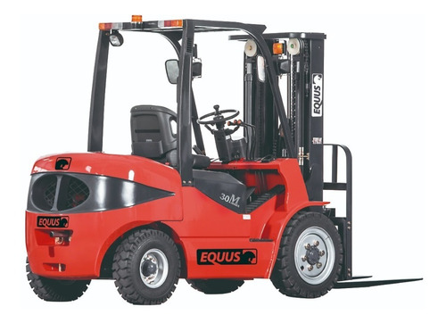 Autoelevador Equus 2.5t Diesel Torre Triple 4.8m