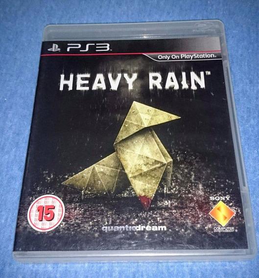 Heavy Rain Ps3 M. Fisica Frete R$10