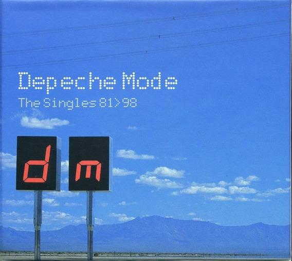 Cd Depeche Mode - The Singles 86/98 - Box 03 Cd Importado