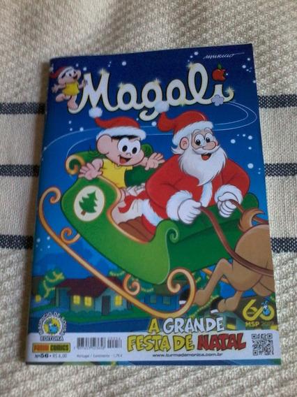 Magali 56 A Grande Festa De Natal Panini