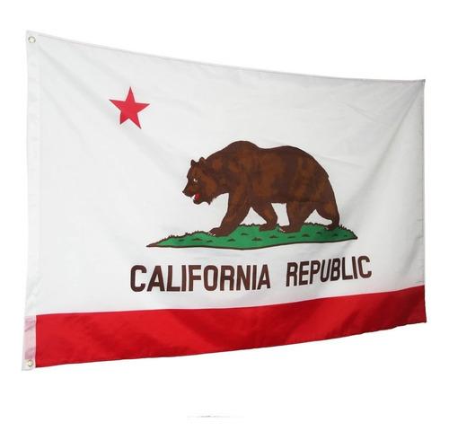 Bandeira Da California Pronta Entrega 150x90cm