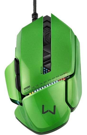 Mouse Gamer Multilaser Dpi Warrior Armor 54 Combinações - 82