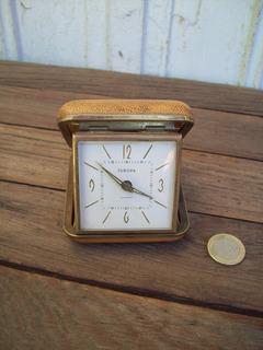 Antiguo Reloj Despertador Europa De Viaje