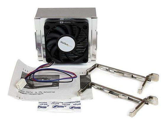 Cooler Intel Socket 478 Aluminio Celeron Pentium 4 Até 3.4