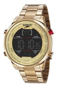 Relógio Speedo Masculino Digital 15005gpevds1 Dourado