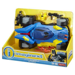 Batimobile Deluxe Imaginext Mattel Ht64 Laferianet