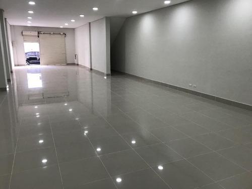 Loja Comercial Para Alugar, 150 M² Por R$ 6.000/mês - Centro - Santos/sp - Lo0126