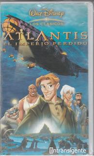 Atlantis: El Imperio Perdido (pelicula Disney Vhs)