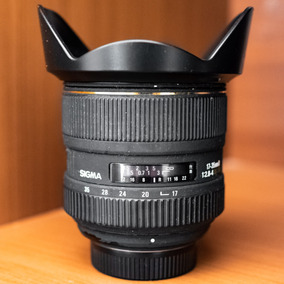 Lente Sigma 17-35mm D F/2.8 - F/4.0 Dg Hsm Para Nikon