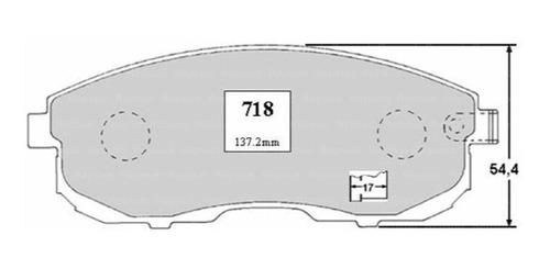 Pastillas Freno Nissan New Sentra 1.8 2016 Dohc Motor Mra8de