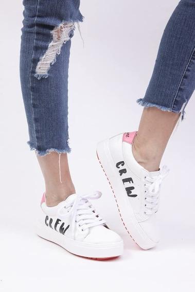 Zapatillas Mujer Urbanas Livianas Y Comodas Primavera Camila