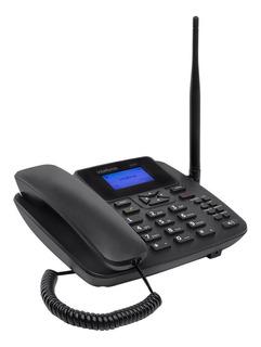 Telefone Celular Fixo Rural 1 Chip Anatel Com Fio Intelbras