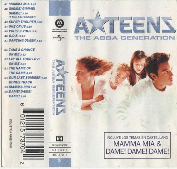 A Teens - The Abba Generation (1999) Cassette Orig Ateens
