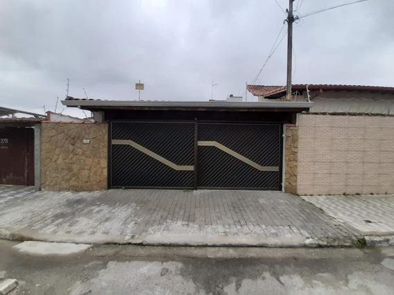 Casa Com 2 Dormitórios Para Alugar Por R$ 2.500/mês - Vila Guilhermina - Praia Grande/sp - Ca0022