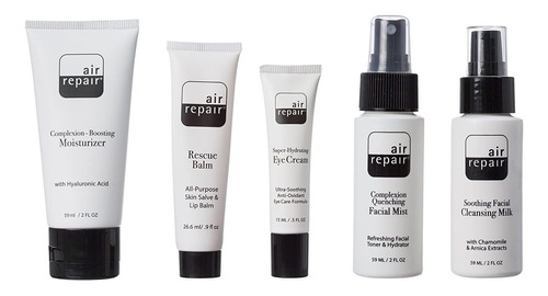 Air Repair Skincare Kit  Paquete Completo De Viaje Tsa Aprob