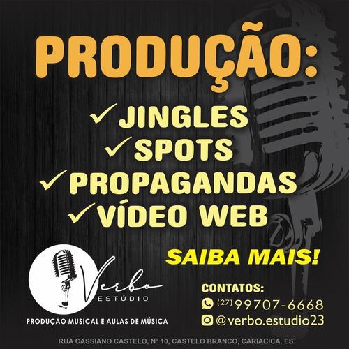 Imagem 1 de 1 de Produzimos Jingles Propaganda Spot E Muito Mais!!!