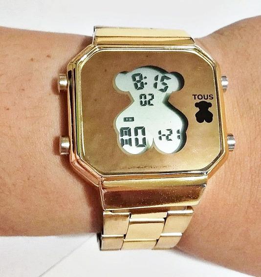 mejores zapatillas de deporte 6bb46 87a4a Reloj Tous Drive Dorado Gold - Joyas y Relojes en Mercado ...