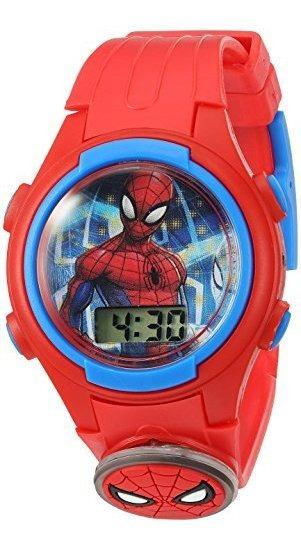 Marvel Spd4452 - Reloj Casual Para Niño (cuarzo, Correa De P