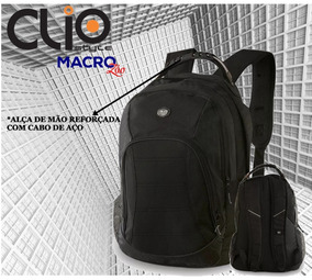 Mochila Clio Laptop Executiva Ml8283 Original