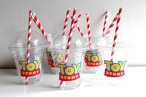 Imagen 1 de 9 de Vasos Toy Story 4 Cúpula Y Más Personajes