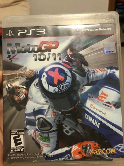 Jogo Playstation 3 Moto Gp 10/11 Midia Física