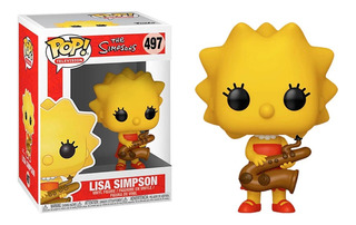 Funko Pop Lisa Simpson Pop 497 The Simpsons Muñeco Original