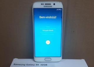 Samsung Galaxy S6 Edge 32gb G925 Vitrine Mancha No Display