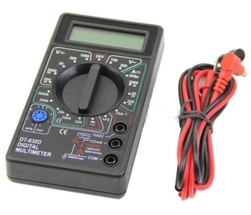 Tester Digital Multimetro Electronica Escuela Boedo Oferta!!
