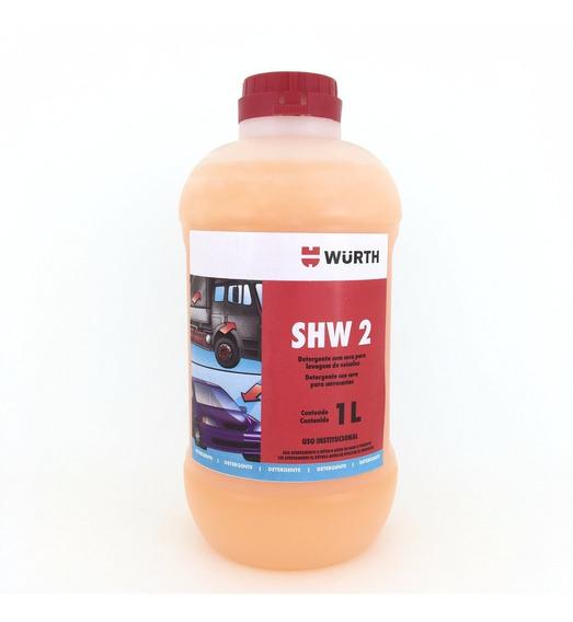 Shampoo Automotivo Com Cera Wurth 1litro