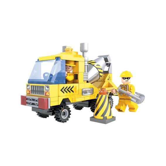 Brinquedo P/ Montar - Construtores Betoneiras - 115 Peças