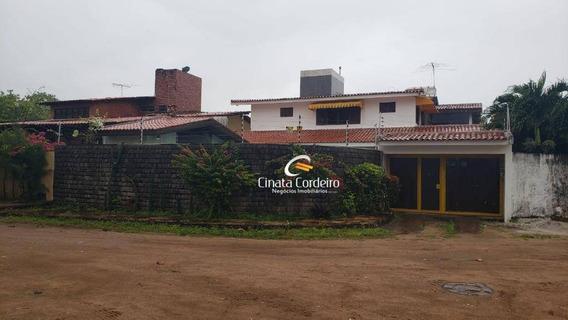 Casa Com 9 Dormitórios À Venda, 333 M² Por R$ 650.000 - Intermares - Cabedelo/pb - Ca0156