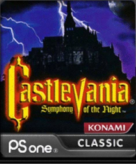 Castlevania Sotn Classico Ps1 Para Ps3 Jogos Playstation 3